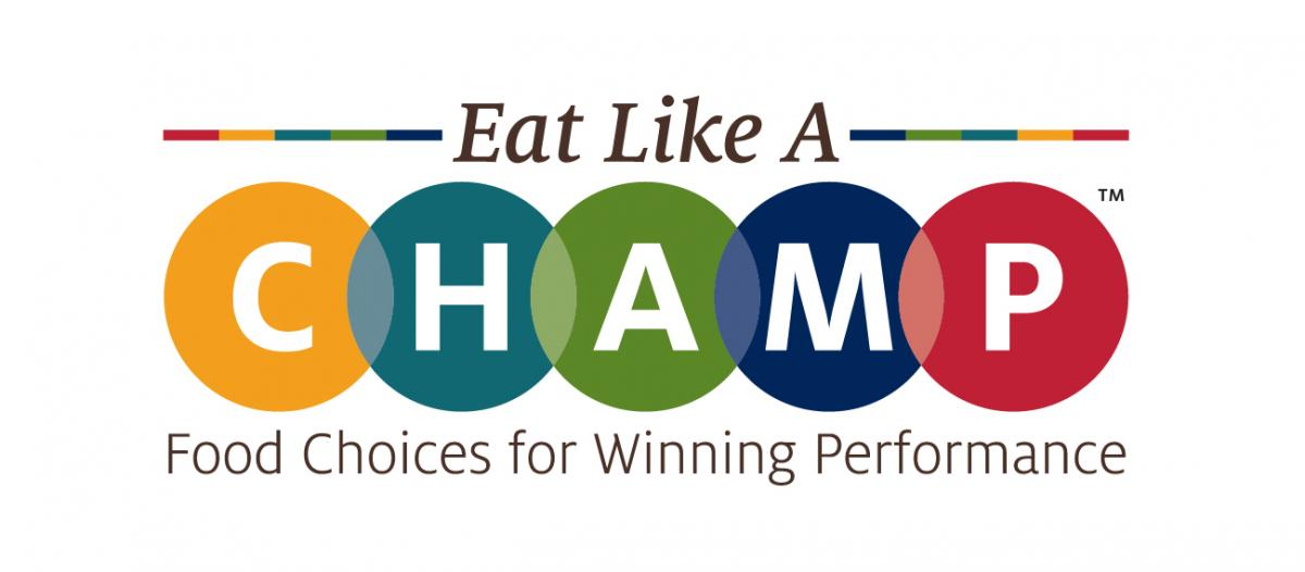 Eat Like a CHAMP Logo