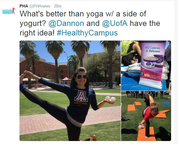 Yoga & Yogurt Event